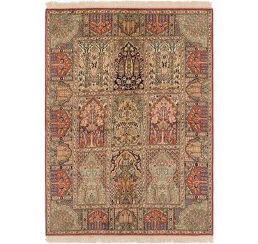 4' 1 x 6' Kashmir Oriental Rug main image