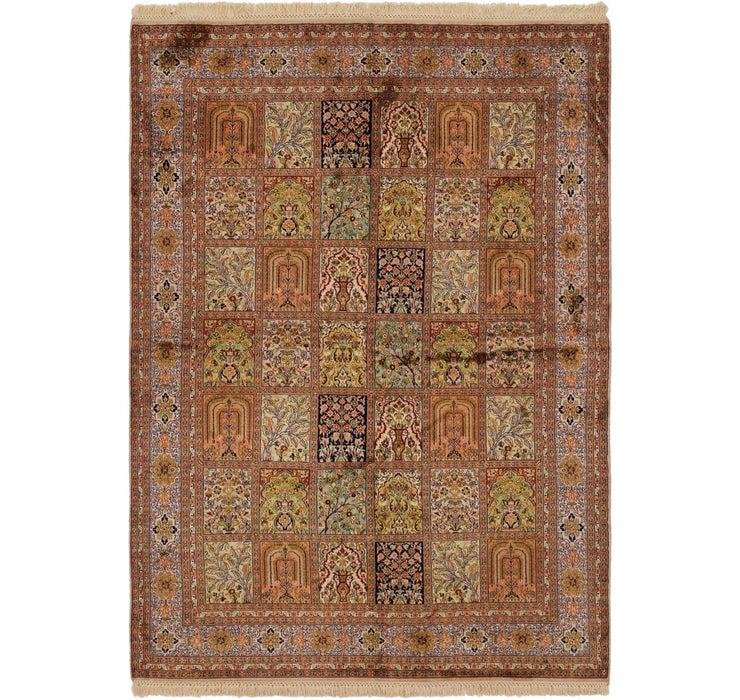 157cm x 225cm Kashmir Oriental Rug
