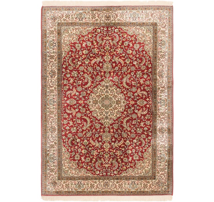 127cm x 188cm Kashmir Oriental Rug
