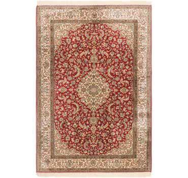 Image of  4' 2 x 6' 2 Kashmir Oriental Rug