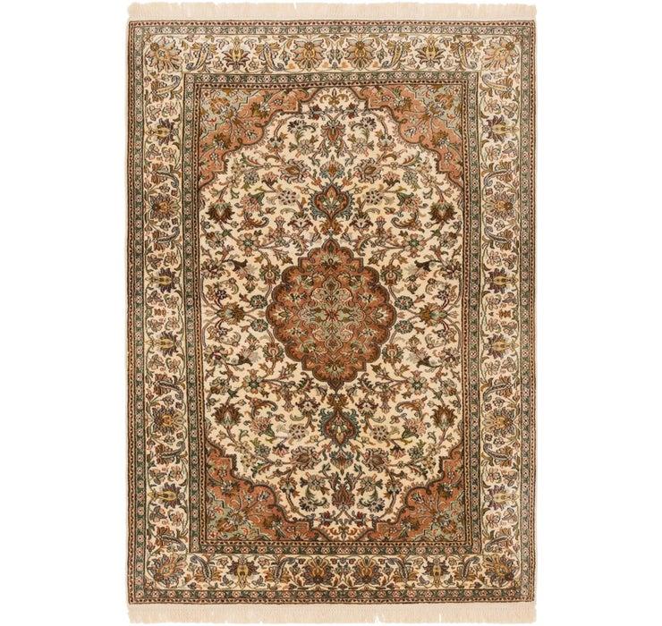 4' 1 x 6' 2 Kashmir Oriental Rug