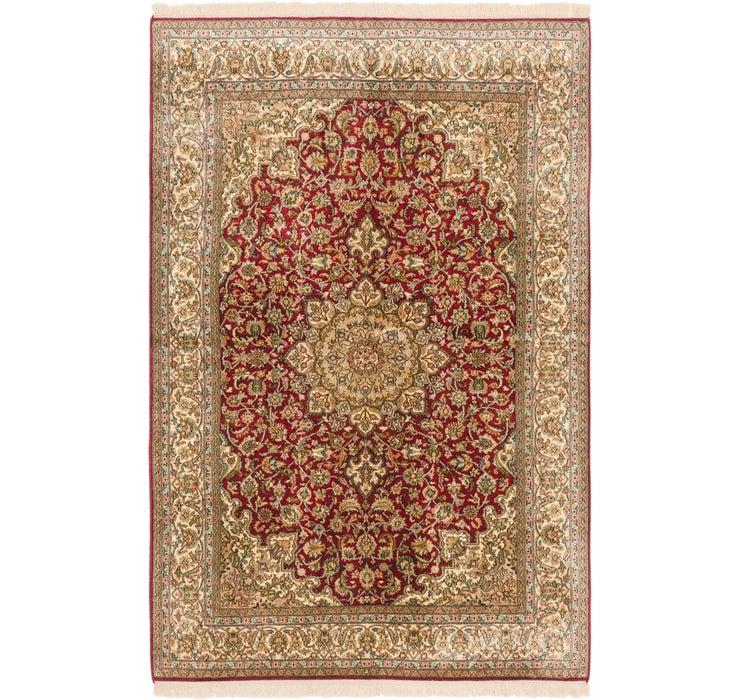 4' 1 x 6' 5 Kashmir Oriental Rug