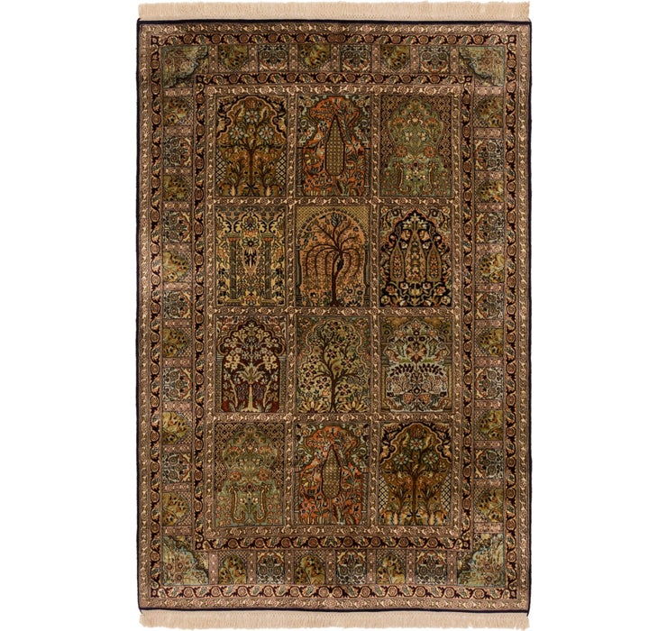 122cm x 188cm Kashmir Oriental Rug