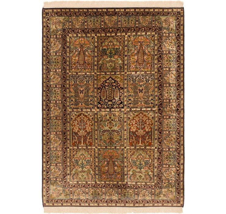 4' 3 x 6' 4 Kashmir Oriental Rug