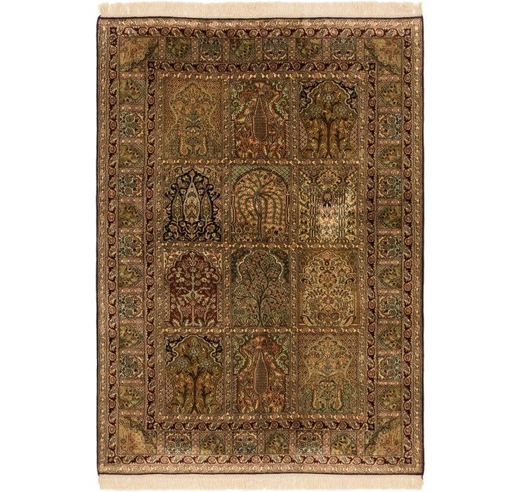 4' 2 x 6' 2 Kashmir Oriental Rug