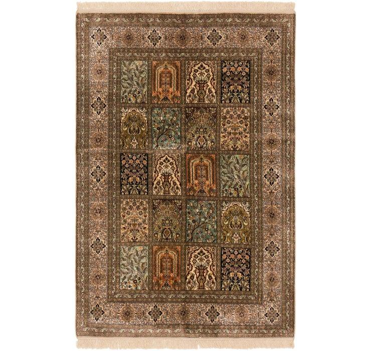 4' 1 x 6' 3 Kashmir Oriental Rug
