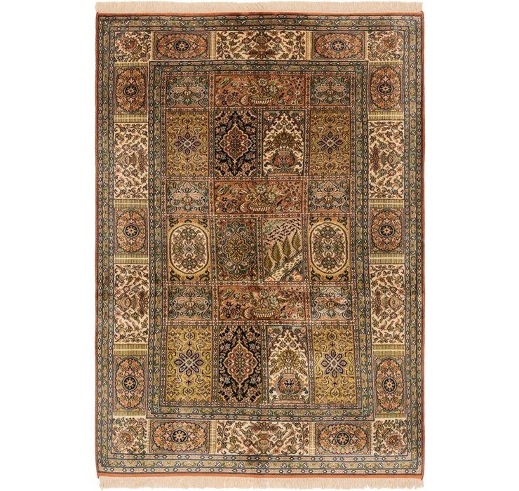 4' 3 x 6' 2 Kashmir Oriental Rug