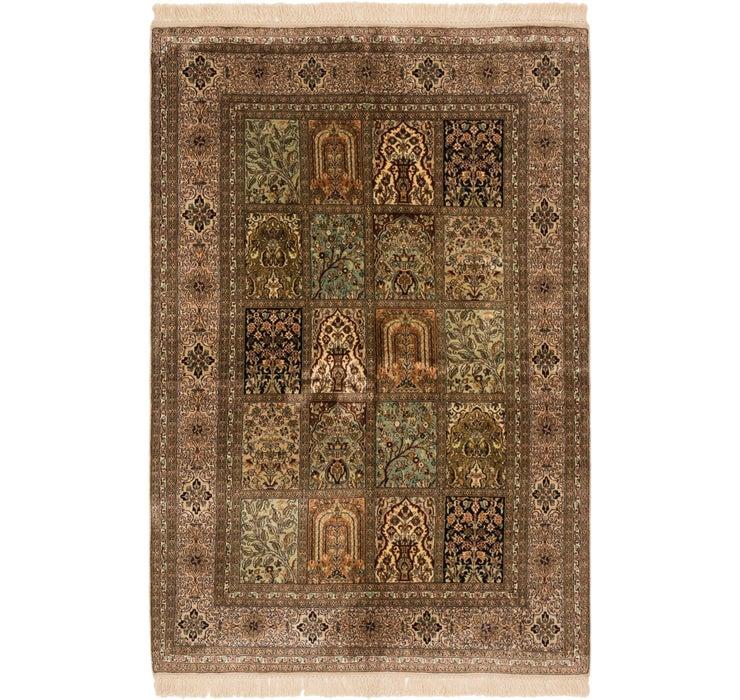 125cm x 190cm Kashmir Oriental Rug