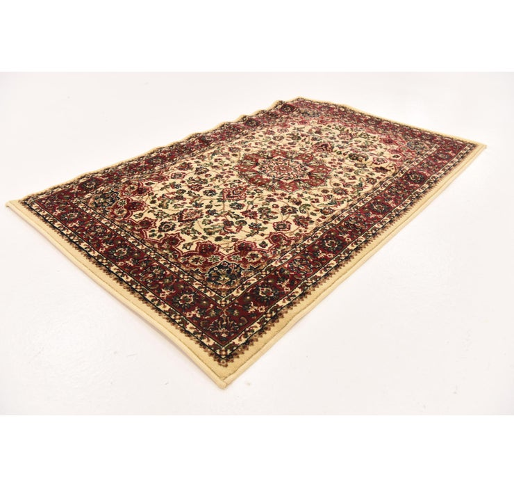 4' 3 x 5' 3 Kashan Design Rug