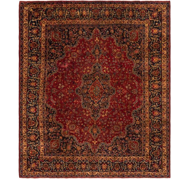 9' 3 x 11' 2 Mashad Persian Rug