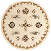 6' 6 x 6' 6 Moroccan Round Rug thumbnail