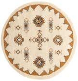 7' x 7' 1 Moroccan Round Rug thumbnail