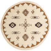 7' 3 x 7' 3 Moroccan Round Rug thumbnail