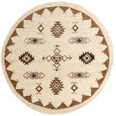 7' 6 x 7' 6 Moroccan Round Rug thumbnail