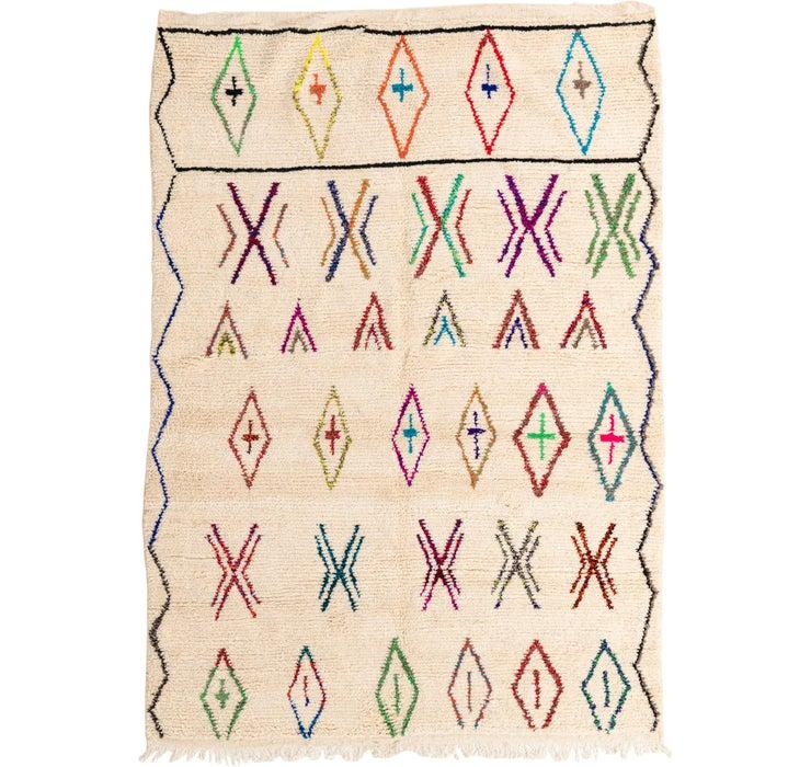 198cm x 285cm Moroccan Rug