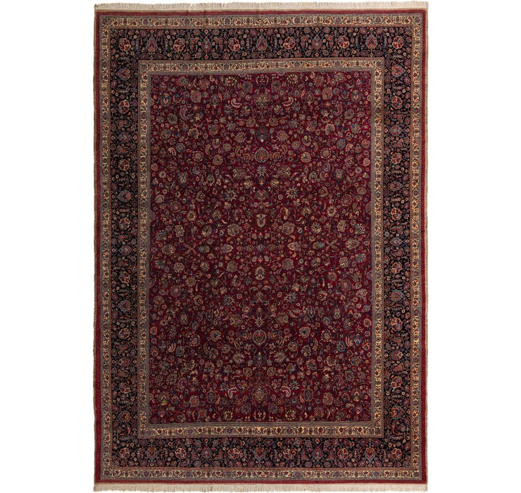 350cm x 493cm Mashad Persian Rug