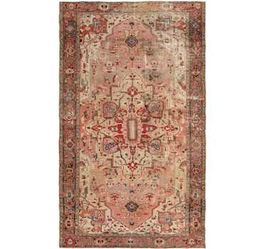8' 8 x 14' 9 Heriz Persian Rug