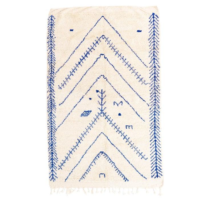 163cm x 260cm Moroccan Rug