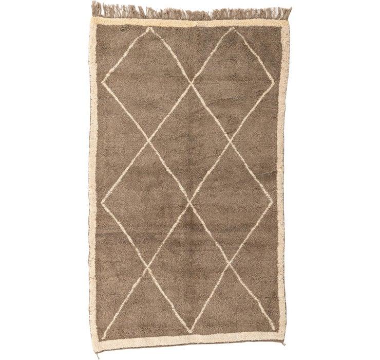 Image of 5' x 9' Moroccan Rug