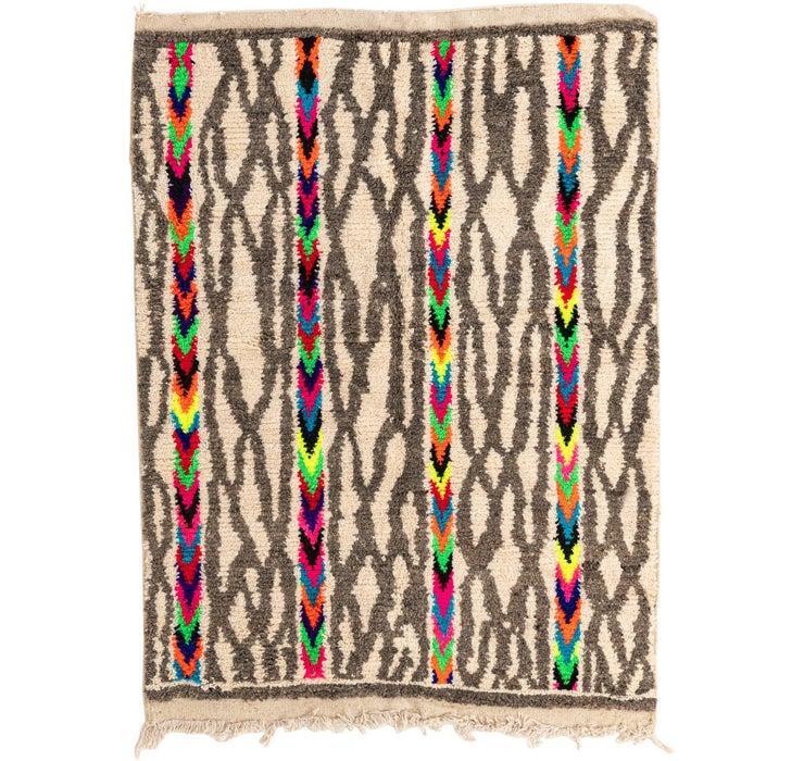 Image of 5' x 6' 6 Moroccan Rug
