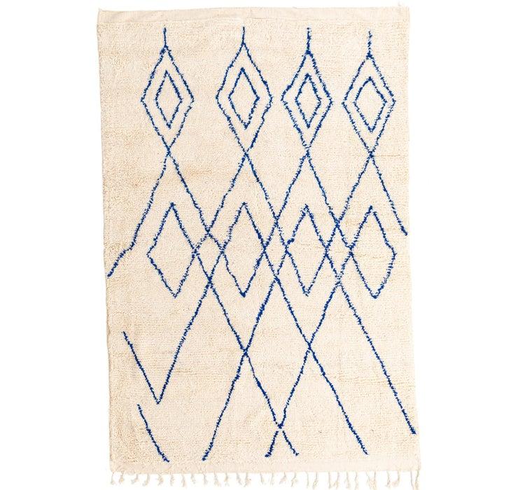 193cm x 290cm Moroccan Rug
