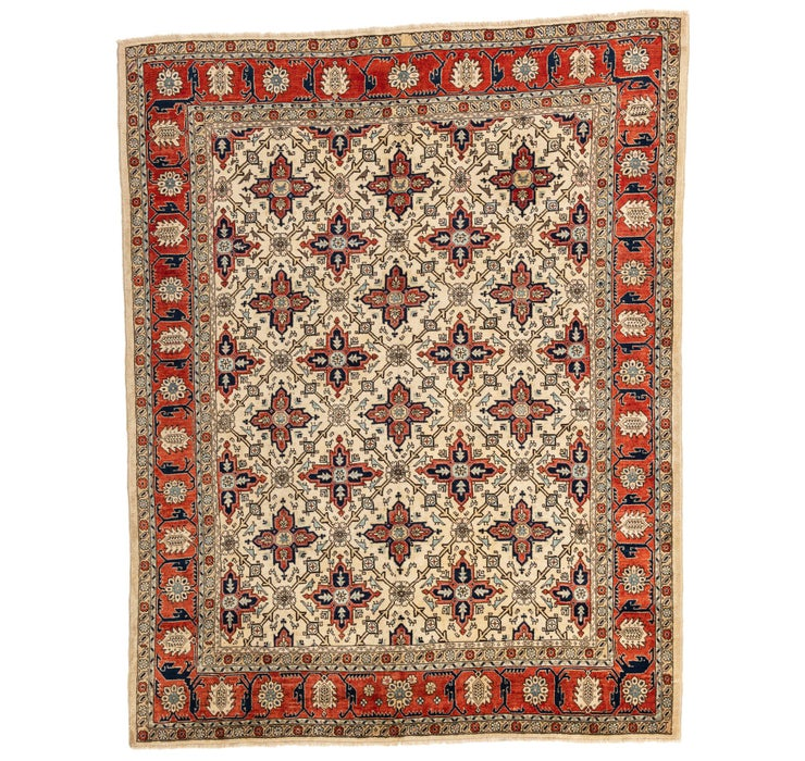 195cm x 245cm Heriz Persian Rug