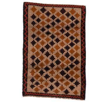 2' 10 x 4' 2 Balouch Persian Rug