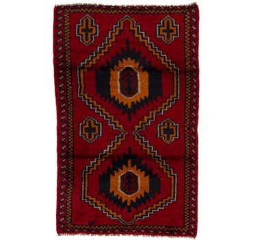 2' 8 x 4' 4 Balouch Persian Rug