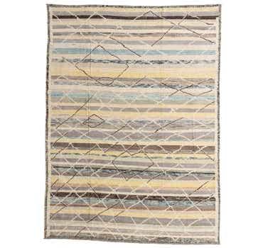 9' x 12' Moroccan Rug