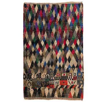 6' 2 x 9' 8 Moroccan Rug