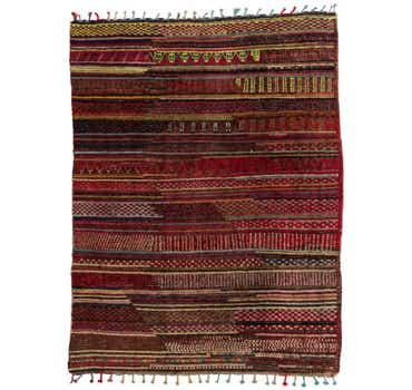 7' 9 x 10' 2 Moroccan Rug