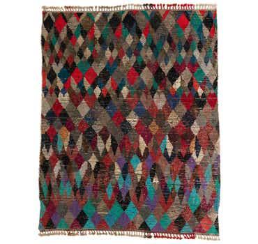 7' 9 x 9' 9 Moroccan Rug