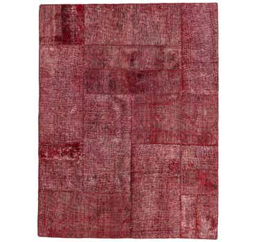 4' 9 x 6' 3 Ultra Vintage Persian Rug