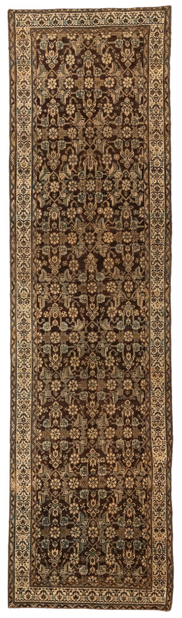3' 6 x 12' 10 Ultra Vintage Persian Runner Rug main image