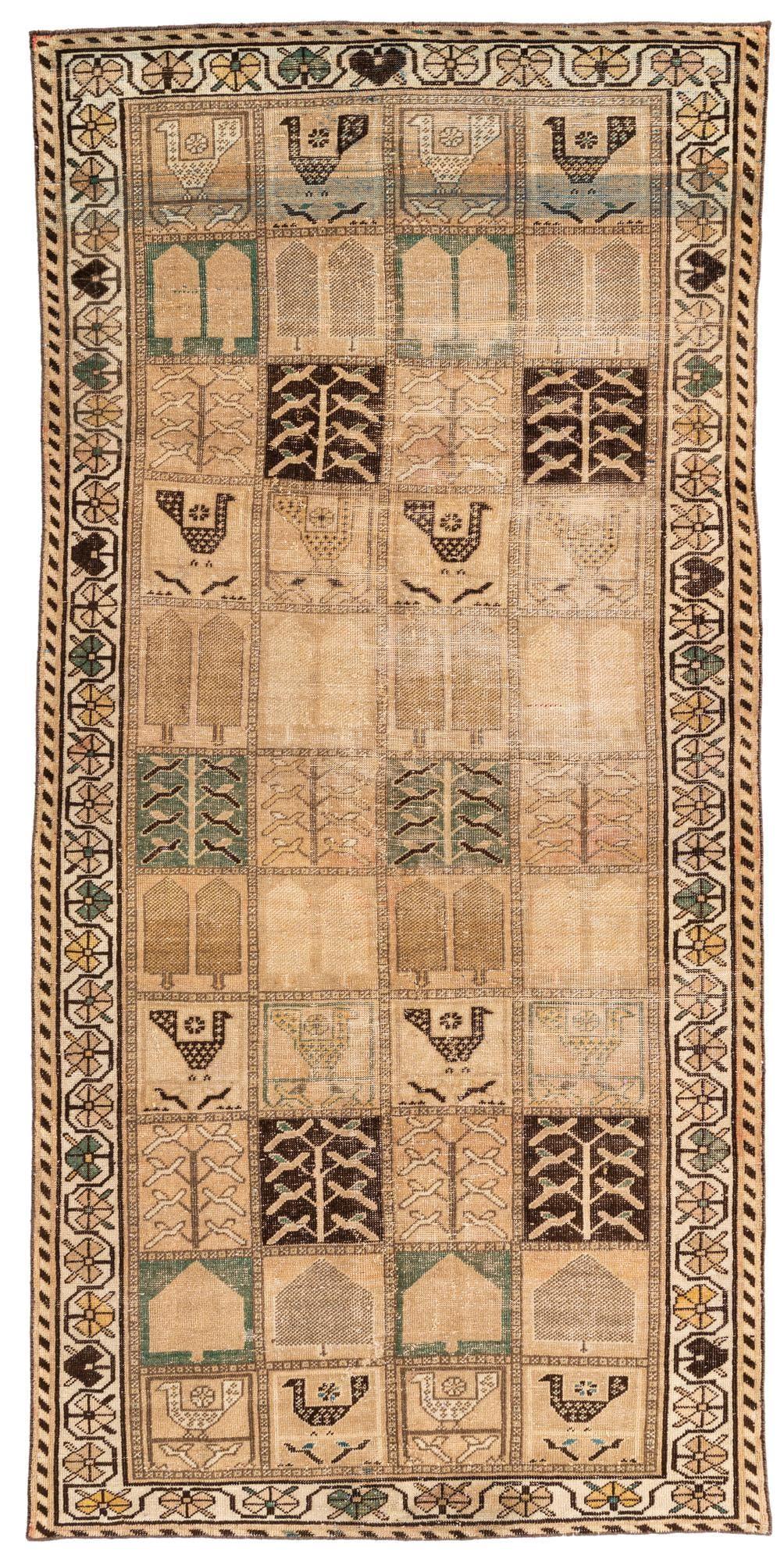 4' 7 x 9' 5 Ultra Vintage Persian Runner Rug main image