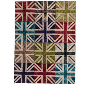 257cm x 348cm Ultra Vintage Persian Rug