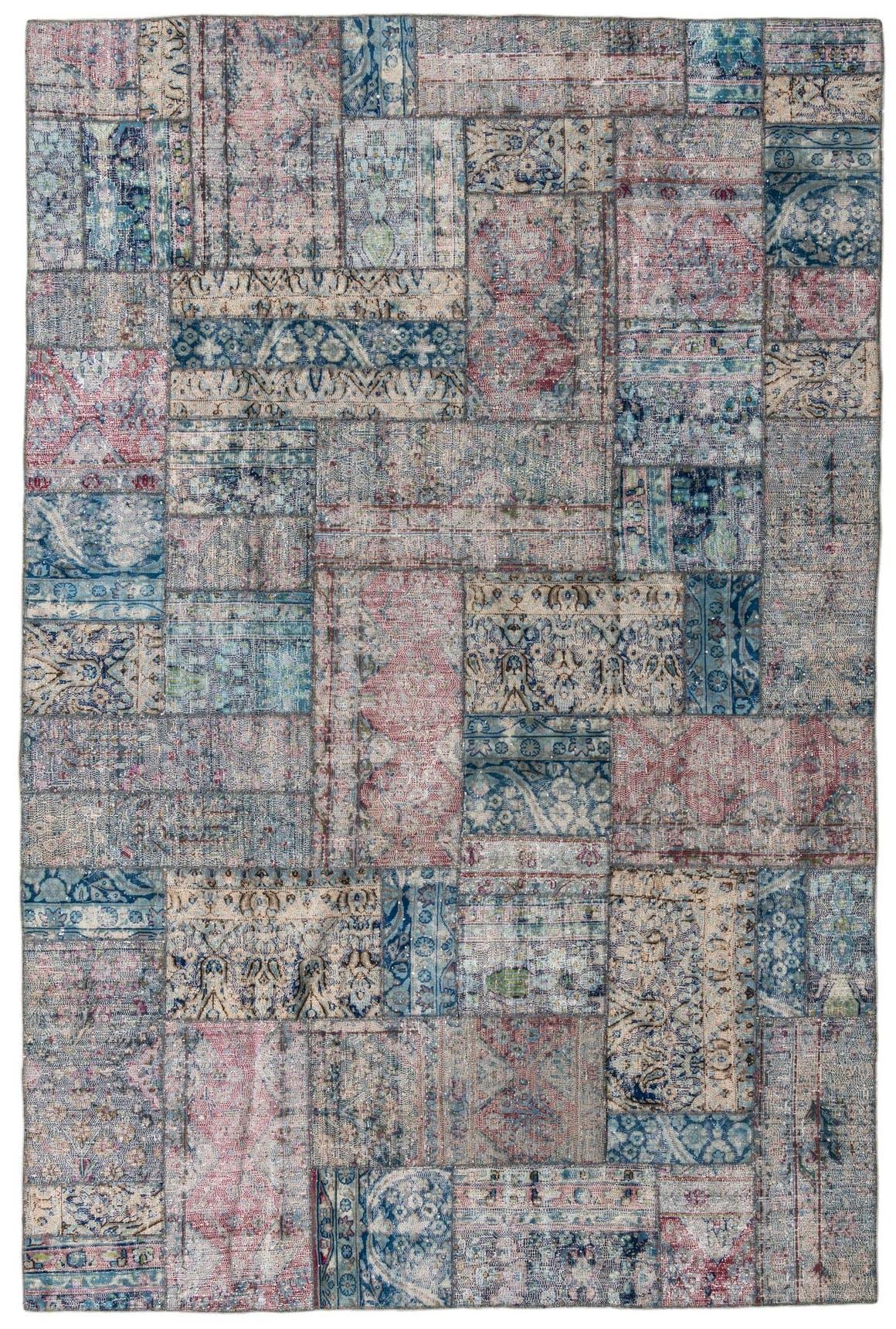 6' 7 x 9' 11 Ultra Vintage Persian Rug main image
