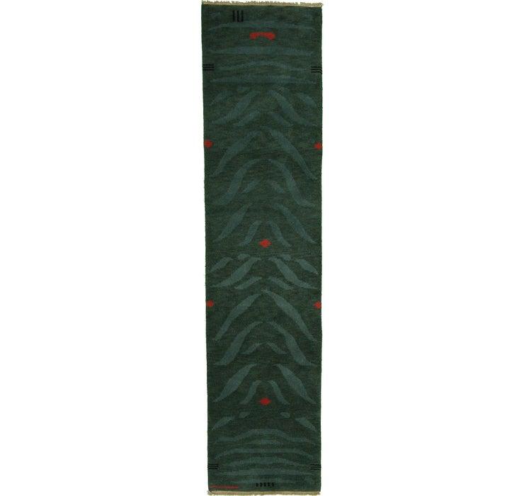 Image of 80cm x 335cm Indo Tibet Runner Rug