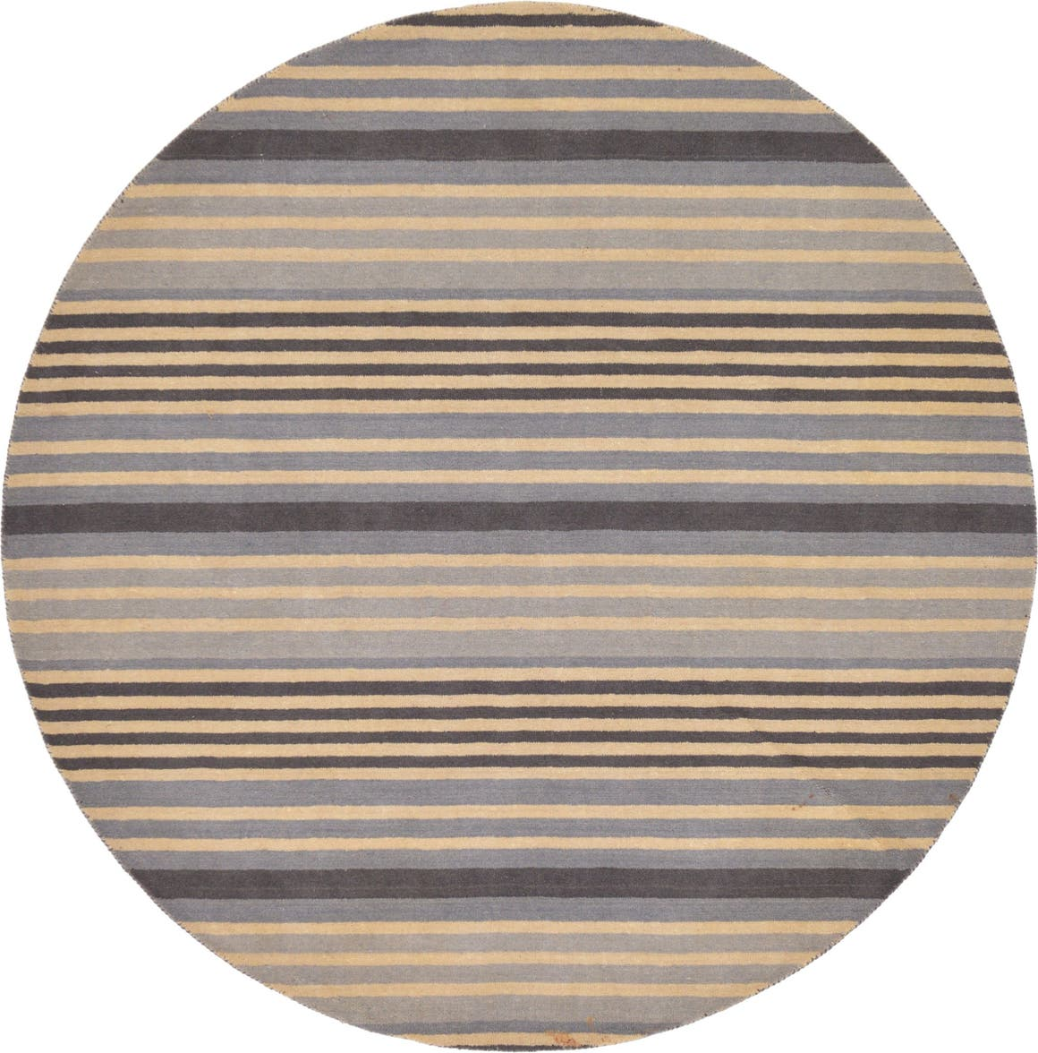 7' 11 x 7' 11 Reproduction Gabbeh Round Rug main image