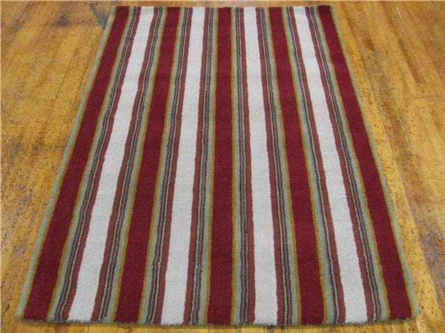 4' x 5' 11 Reproduction Gabbeh Rug main image