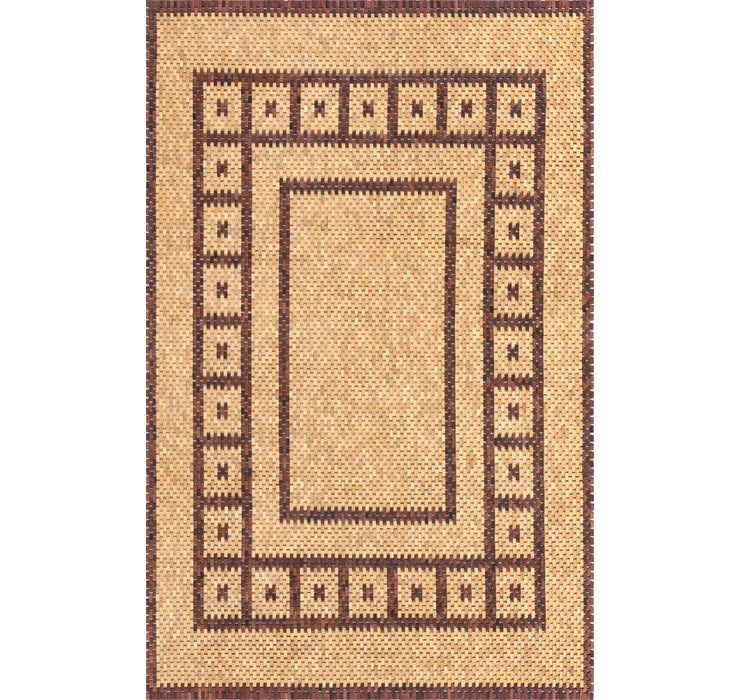 Image of 6' x 9' Wooden Wood Rug