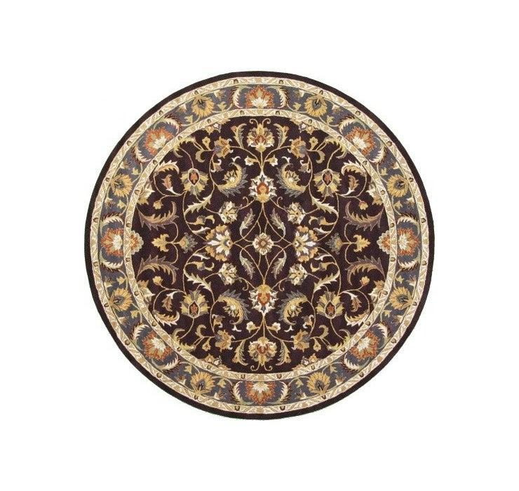 8' 2 x 8' 2 Classic Agra Round Rug