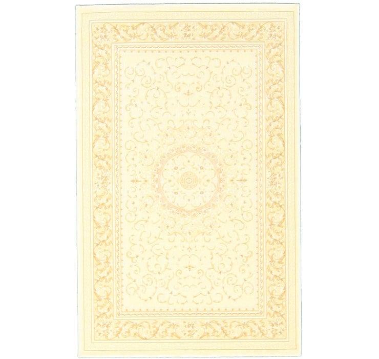 4' x 6' Tabriz Design Rug