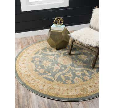 Image of  Blue Chelsea Round Rug