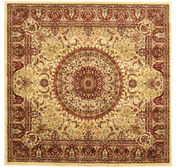 200cm x 200cm Tabriz Design Square Rug