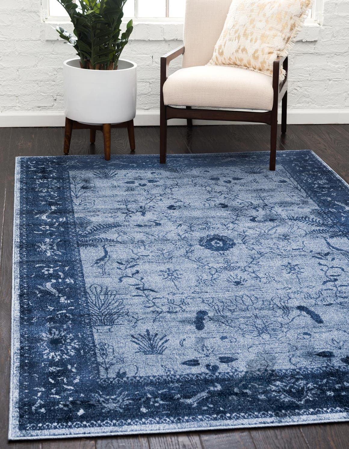 Blue 7 X 10 Vista Rug Erugs
