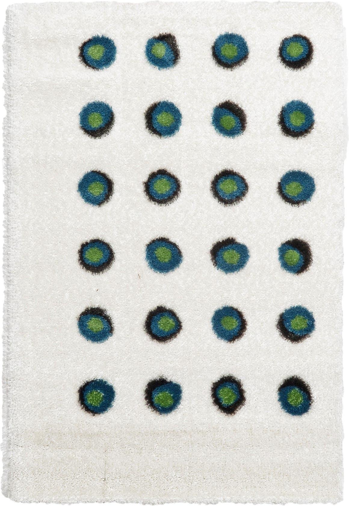 4' x 6' Abstract Shag Rug main image
