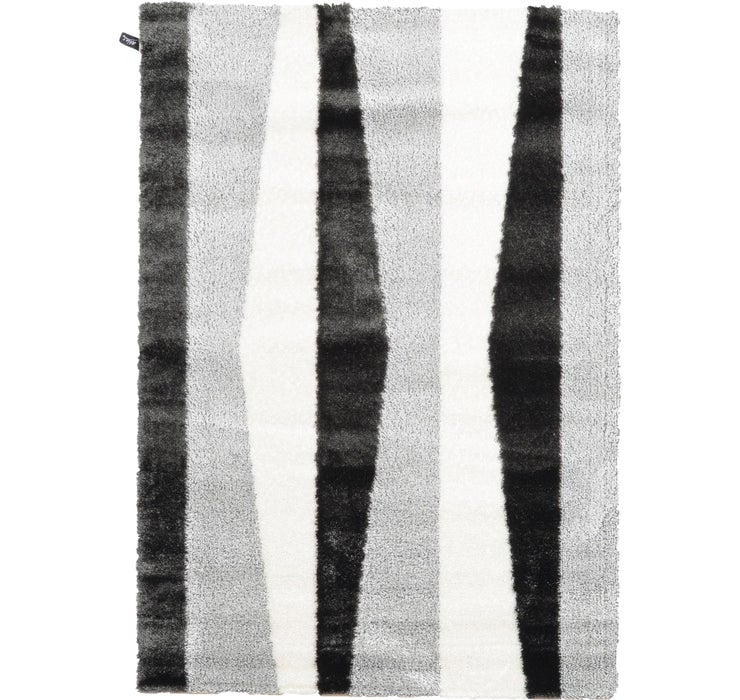 160cm x 230cm Abstract Shag Rug