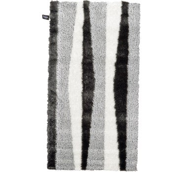 Image of 2' 7 x 5' Abstract Shag Rug
