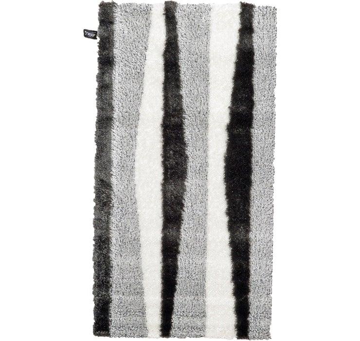 2' 7 x 5' Abstract Shag Rug